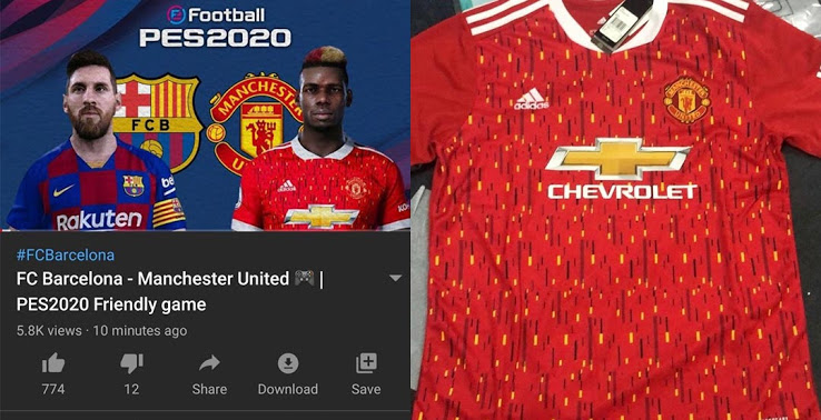 After images of manchester united's official 2021/22 home kit photoshoot were leaked online, photos of the new away kit are now starting to. Picture: Man United 2020/21 home shirt kit leak - Old