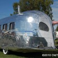 Picture of classic 1936 airstream clipper travel trailer
