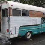 A Truck Camper For A Truck