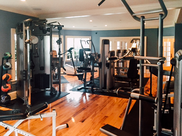 Home gym design old village gym
