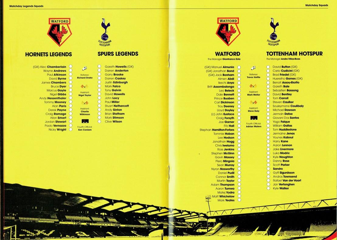 5th August 2012- Lloyd Doyley's Testimonial, Watford 0