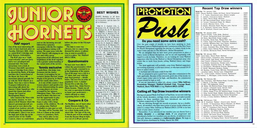 February 1988 – Old Watford