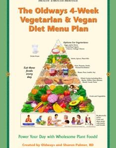 Vegetarian and vegan menu plan book also vitamin  sources for vegans vegetarians oldways rh oldwayspt