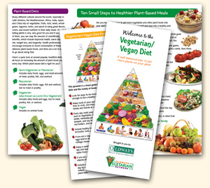 Vegetarian & Vegan Diet Pyramid Oldways