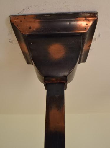 Craftsman 26 inch ceiling cap close up