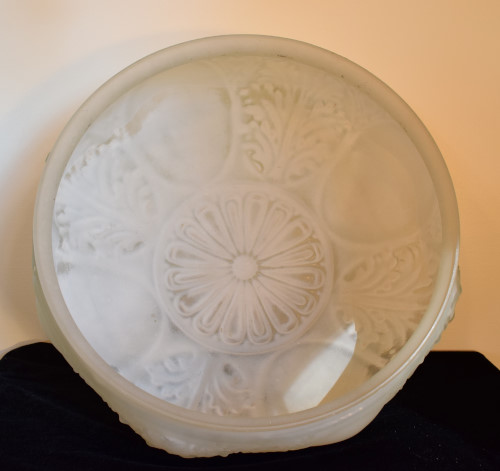 Victorian Bowl Shade, inside view