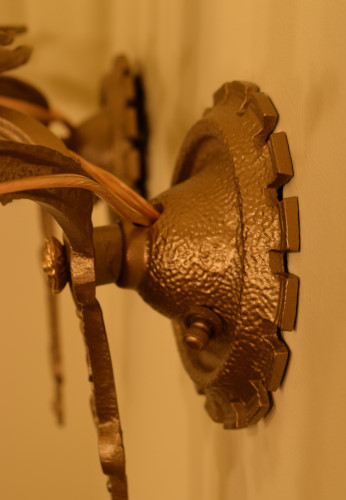 Arabesque Sconce backplate