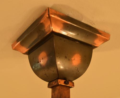 Craftsman Pendant, ceiling cap