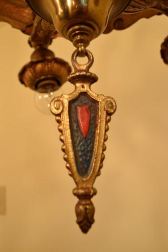 Crown, tassel close up