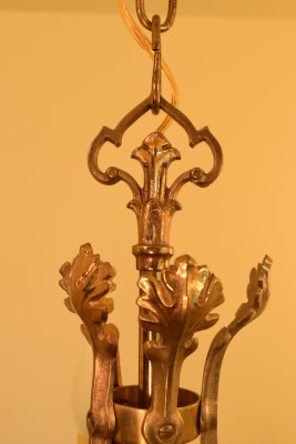 Brass Leaves finial