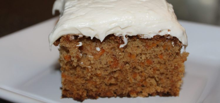 What Do I Do With All These Carrots?? – Homemade Carrot Cake, of course! (Recipe Included)