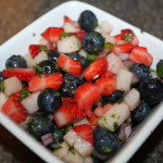 Red, White, and Blue Salsa Recipe