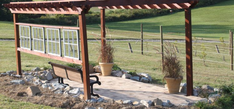 Building A Hillside Vineyard Pergola – A Place To Enjoy The Outdoors