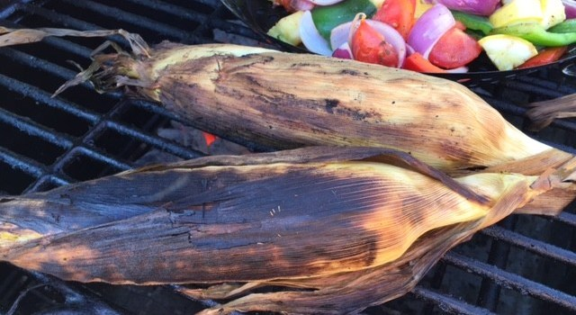 The Easiest and Best Way to Grill Sweet Corn