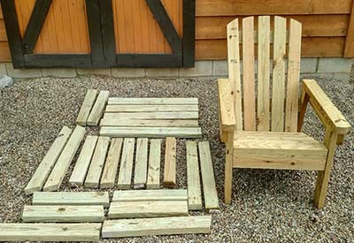 2x4 diy adirondack chair & 2x4 DIY Adirondack Chair - Perfect For The Patio Backyard Or Fire Pit!