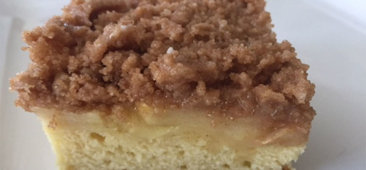 Apple Streusel Coffee Cake Recipe – An Easy And Delicious Autumn Treat