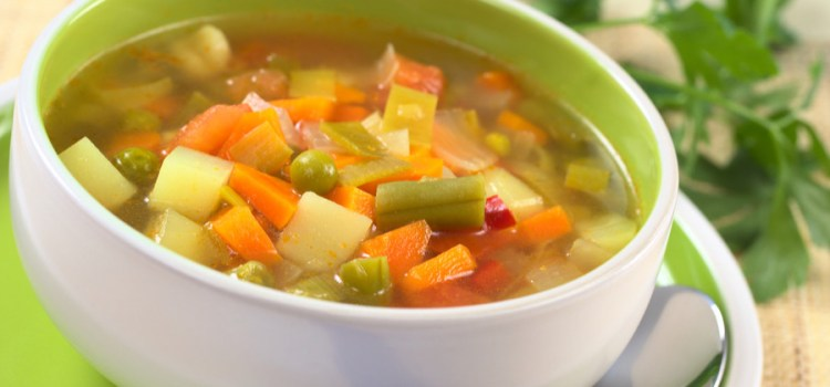 Homemade Vegetable Soup – A Great Way To Use Fresh or Frozen Veggies