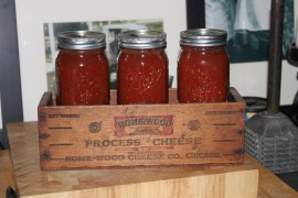 Picante Salsa - one of our favorites to make and eat!