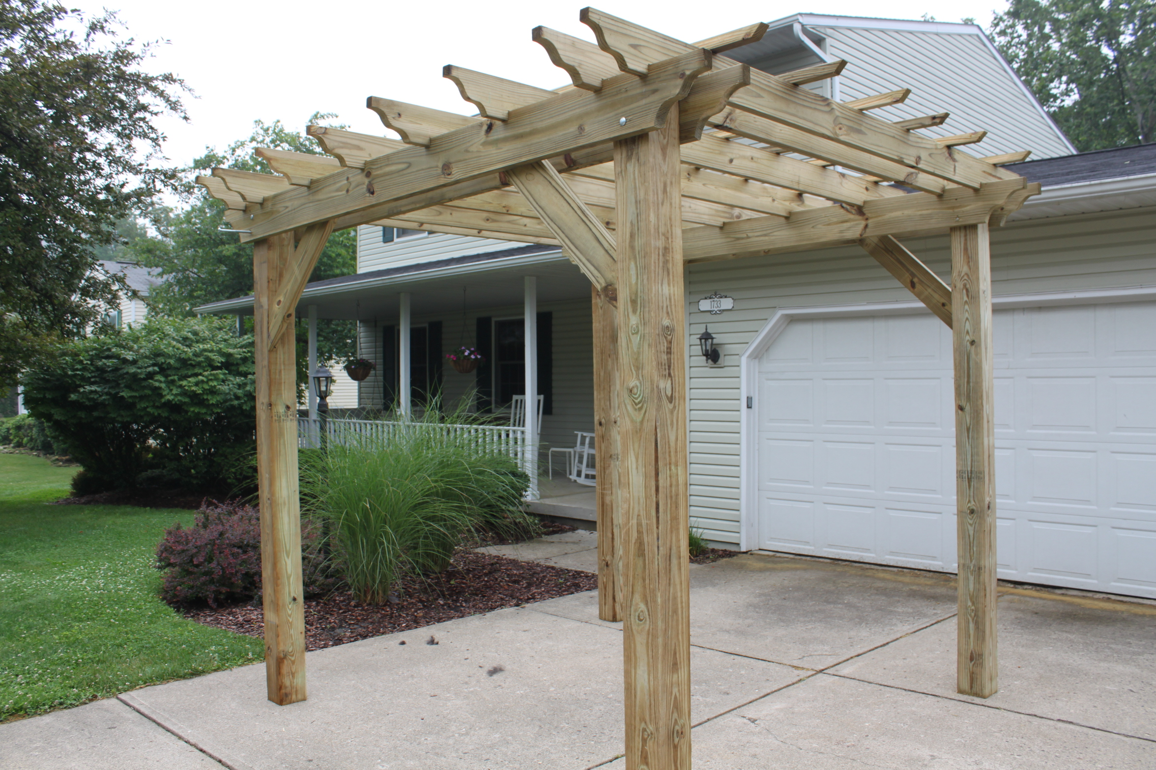 Pergolas Arbors And Garden Structures