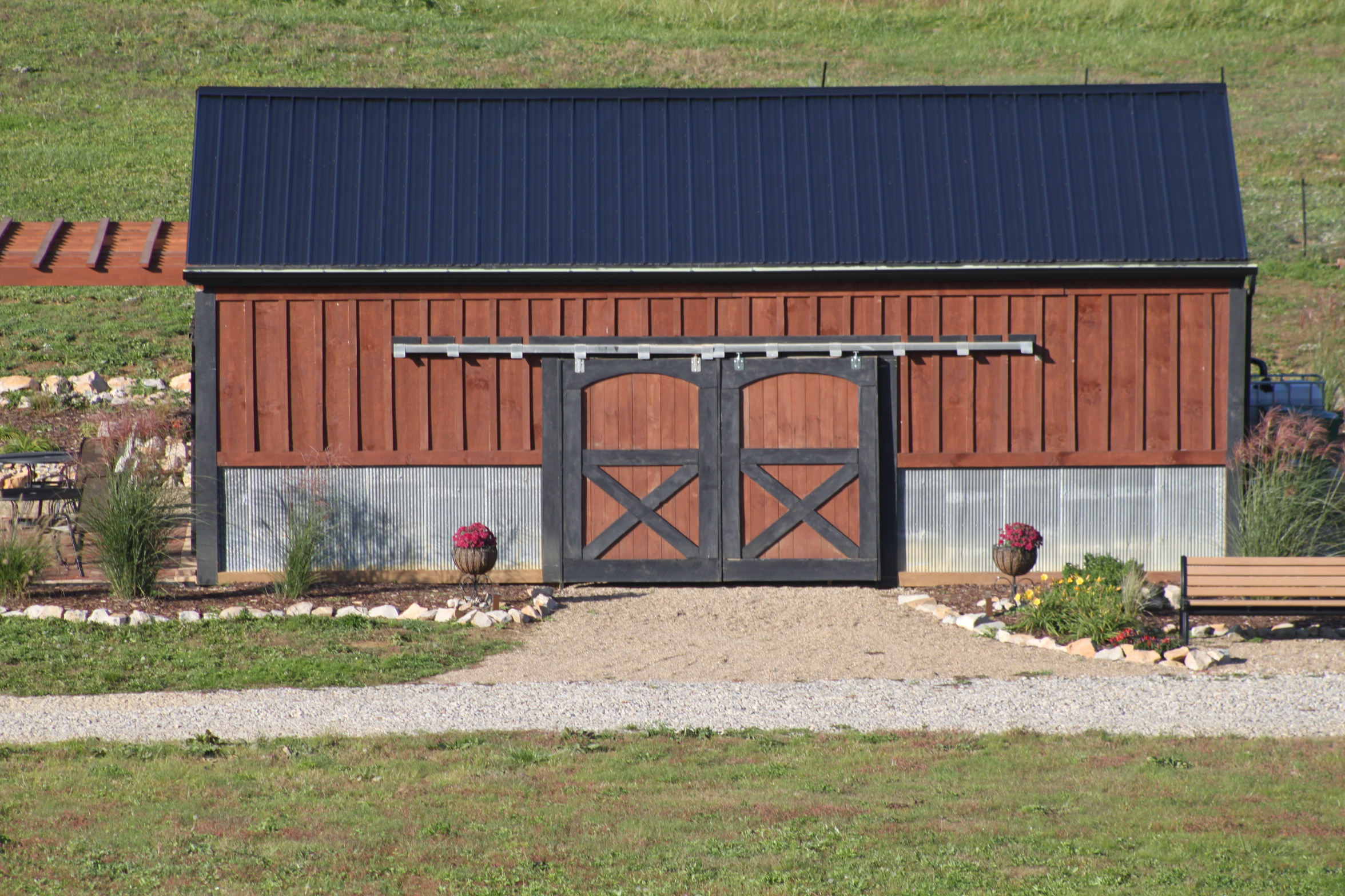 Creating a simple and inexpensive rain water collection for Inexpensive barns