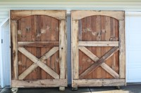 How To Build A Rustic Barn Door Headboard - Old World ...