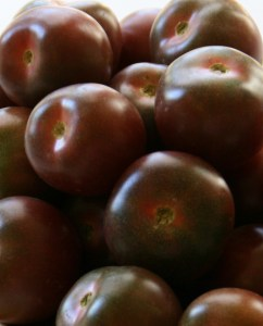Black cherry tomatoes are the perfect salad tomato and full of flavor