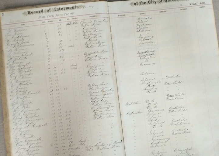 Rosenberg Library Record of Internments Galveston - What to do, see, eat and explore while in Galveston, TX   oldworldnew.us