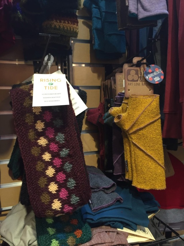 wrist and ear warmers by Gypsy & Lolo at Whole Foods Market via Old World New