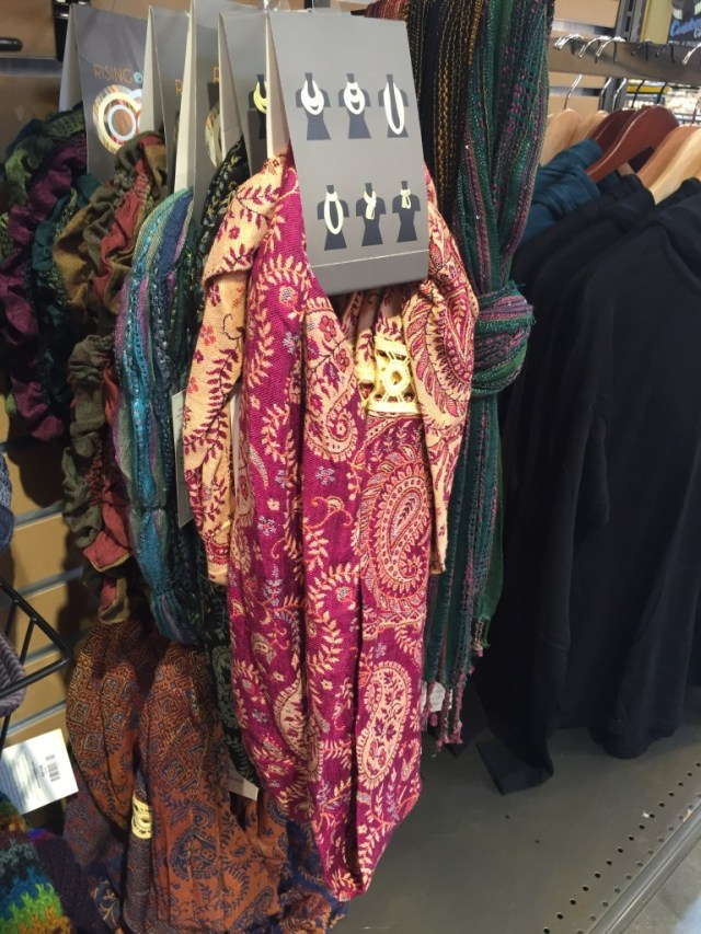 Infinity Scarf by Rising Tide at Whole Foods Market via Old World New