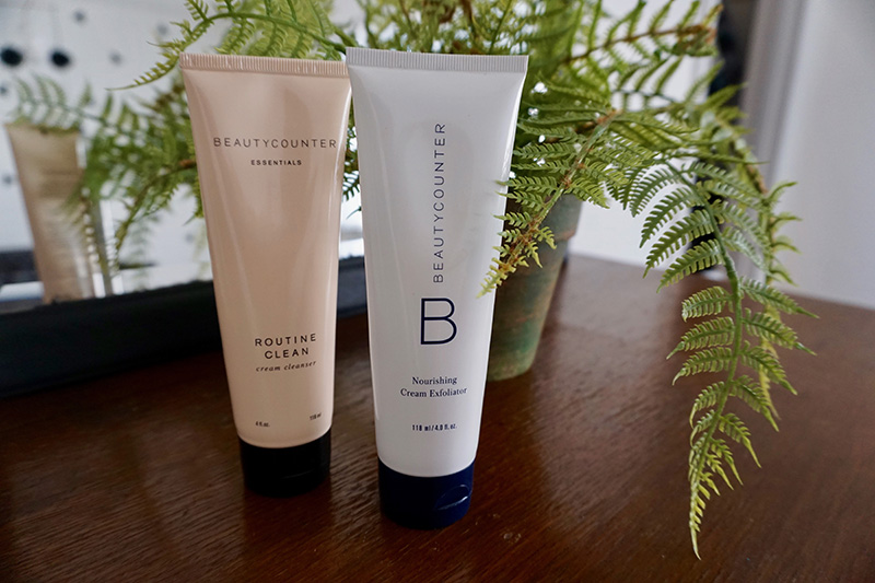 beauty counter green beauty skincare nourishing cleansers