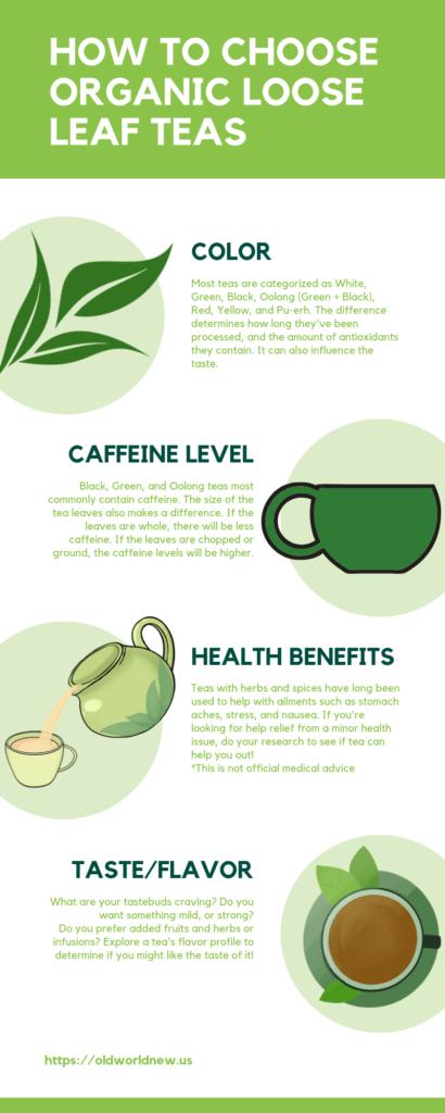 how to choose organic loose leaf tea