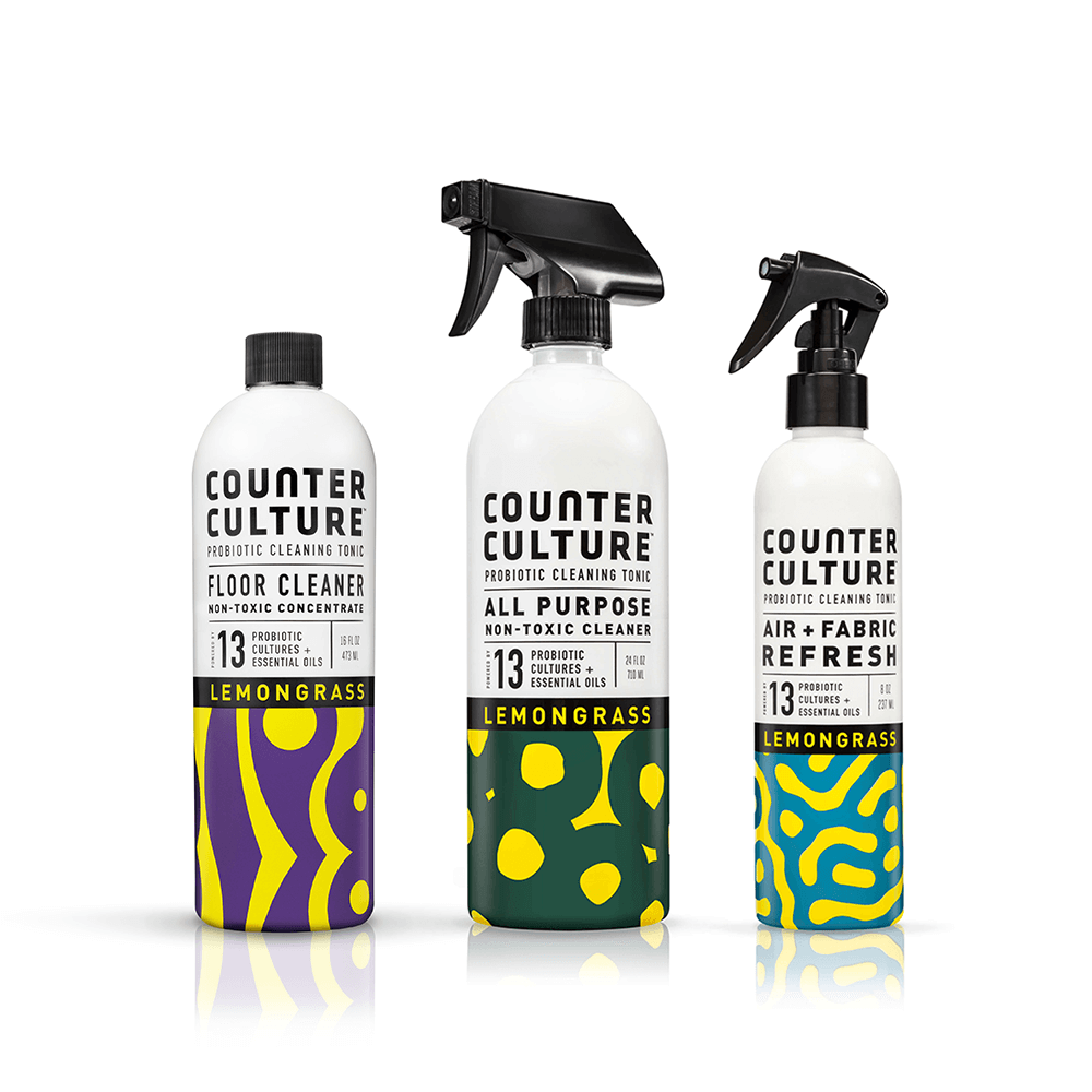 counter culture clean probiotic home cleaning supplies