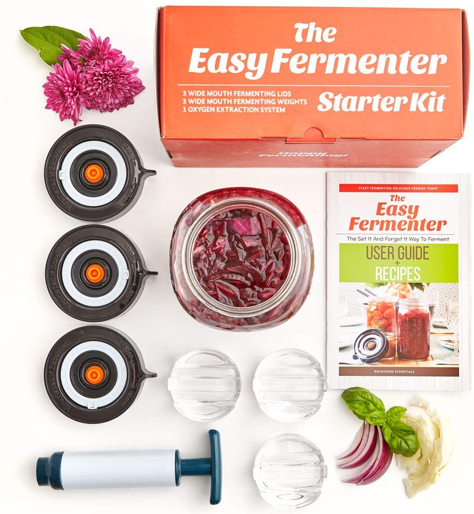 easy fermenter starter kit by Noursihed Essentials