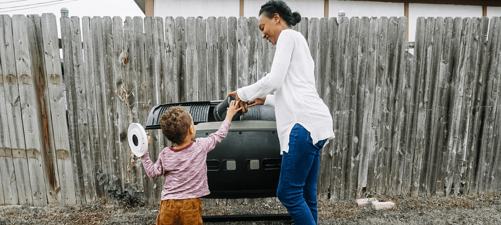 how to compost with home depot eco options