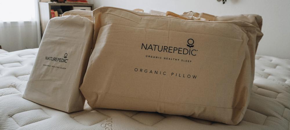 naturepedic organic mattress and pillows