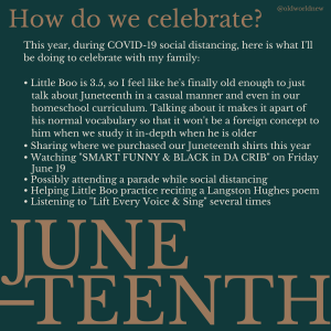How to Celebrate Juneteenth