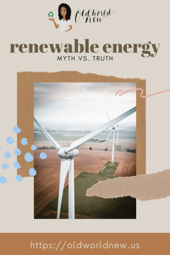 myths about renewable energy debunked