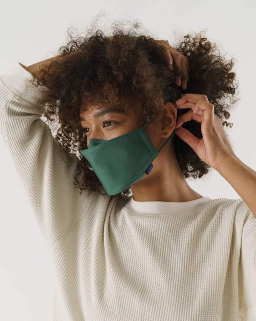 baggu reusable loop fabric face mask