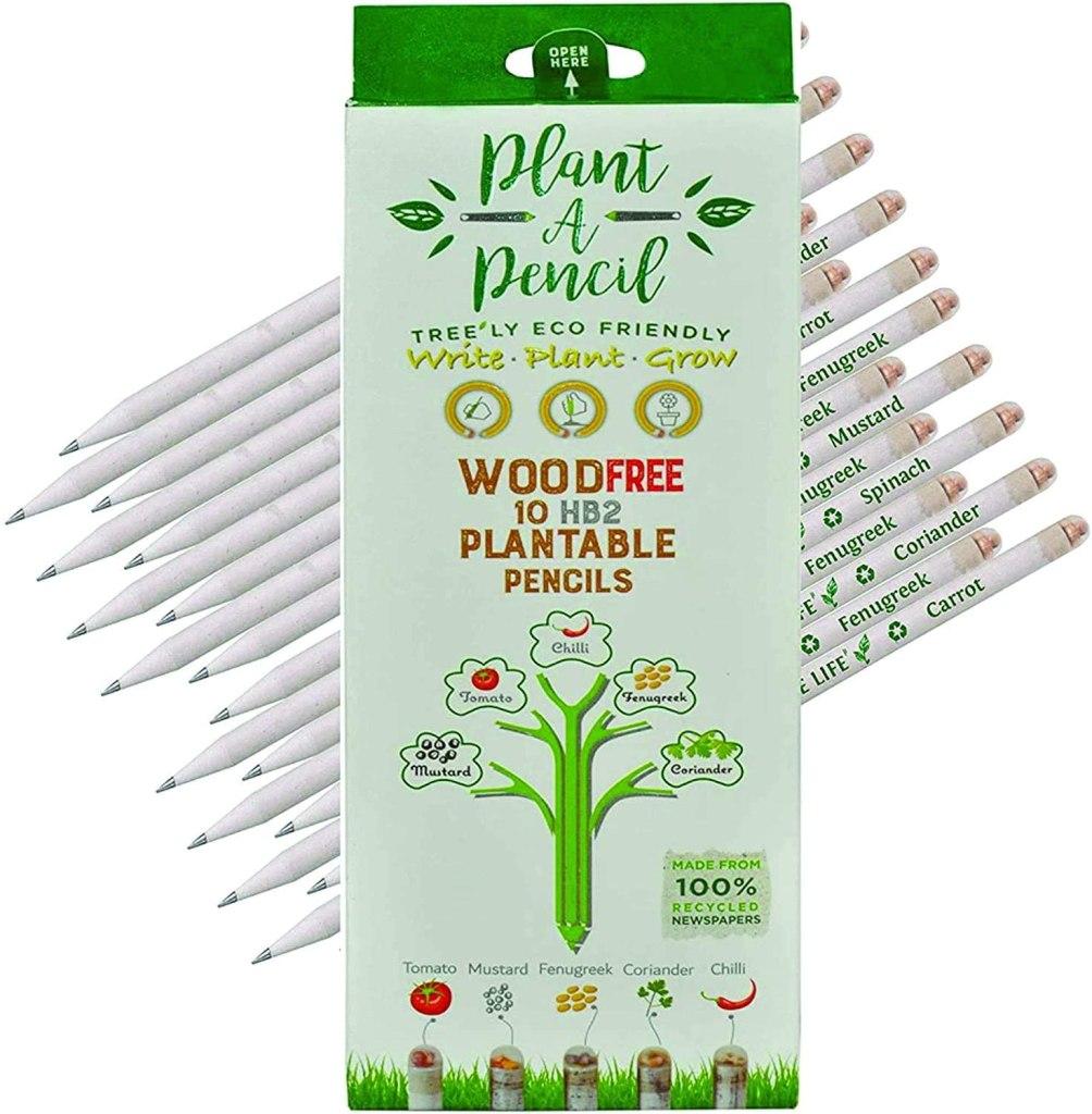 tree free pencils