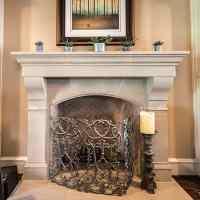 Amhurst Cast Stone Fireplace Mantels - 36, 42, 48 - Old ...