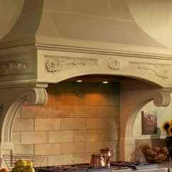 Professional Kitchen Accessories White Sink Undermount Florentine Cast Stone Range Hoods - Old World ...