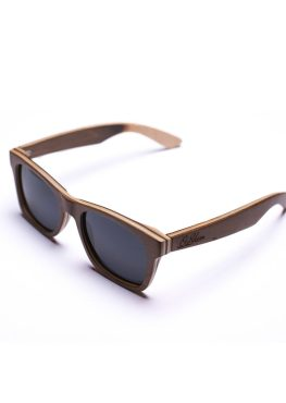 Skateboard wood wayfarer sunglasses
