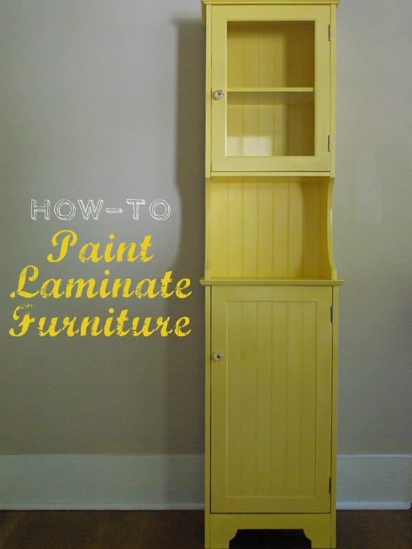 Painting Laminate Furniture Oleander Palm