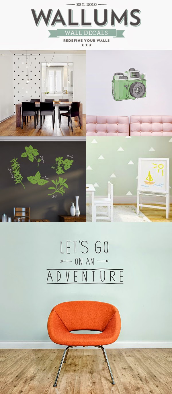 Vintage Wallums Wall Decals Giveaway