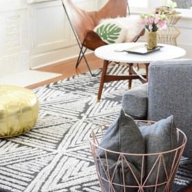 Modern Meets Vintage Living Room