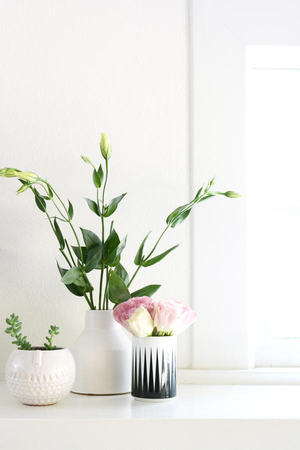 Modern Meets Vintage Living Room Oleander Palm