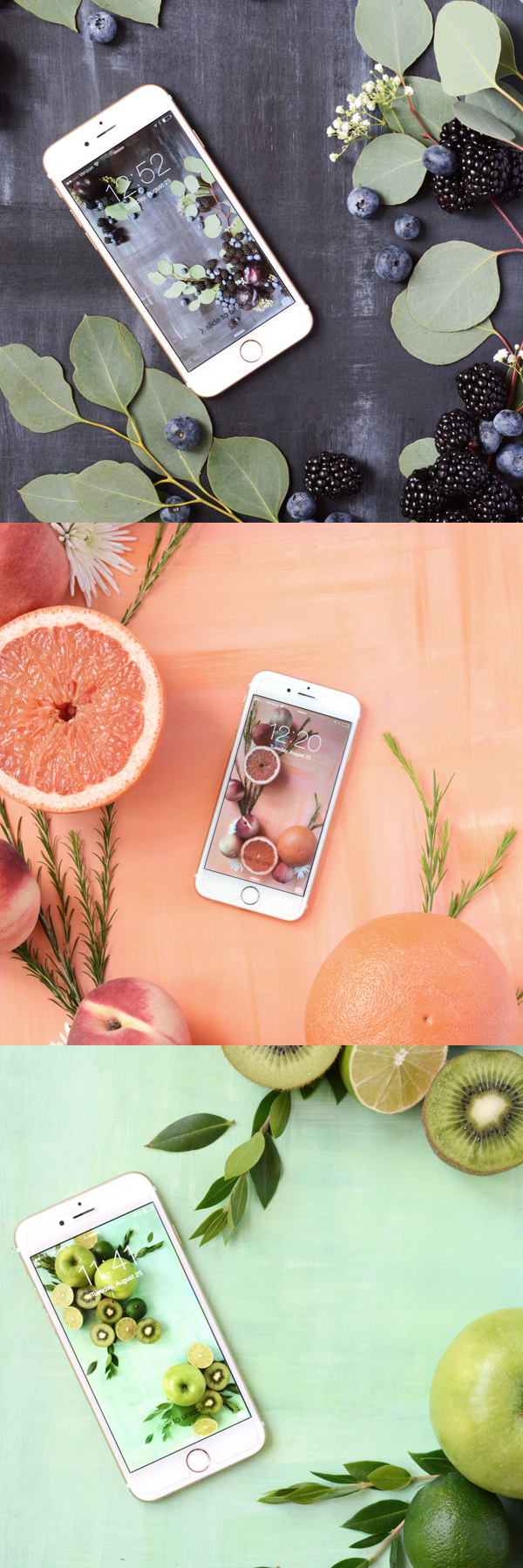 fruit phone wallpaper