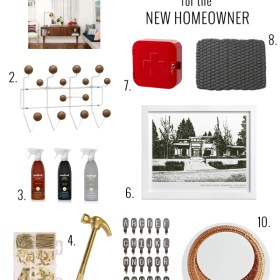 Gift Guide for the New Homeowner