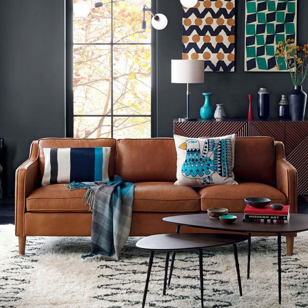 Enjoyable Camel Colored Leather Sofas Oleander Palm Evergreenethics Interior Chair Design Evergreenethicsorg
