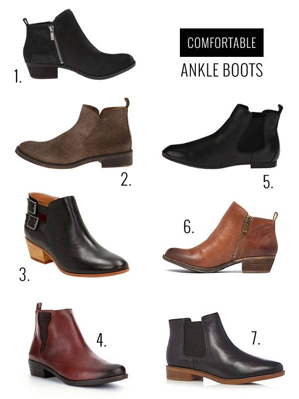 Comfortable Ankle Boots You Can Wear All Day - Oleander   Palm